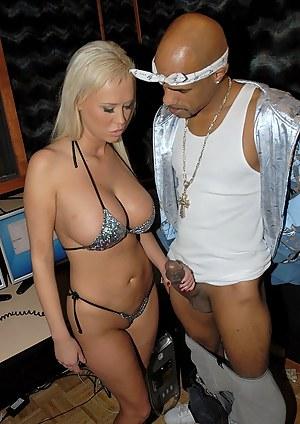 Big Tits Interracial Porn Pictures